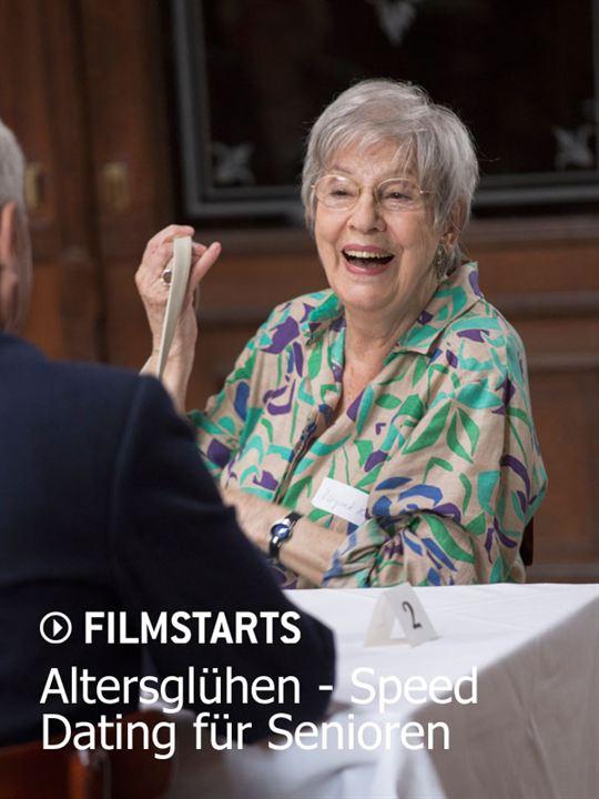 Altersglühen - Speed Dating für Senioren : Kinoposter