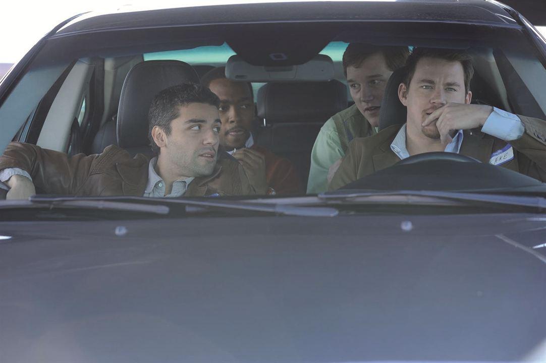 10 Jahre - Zauber eines Wiedersehens : Bild Anthony Mackie, Channing Tatum, Chris Pratt, Oscar Isaac