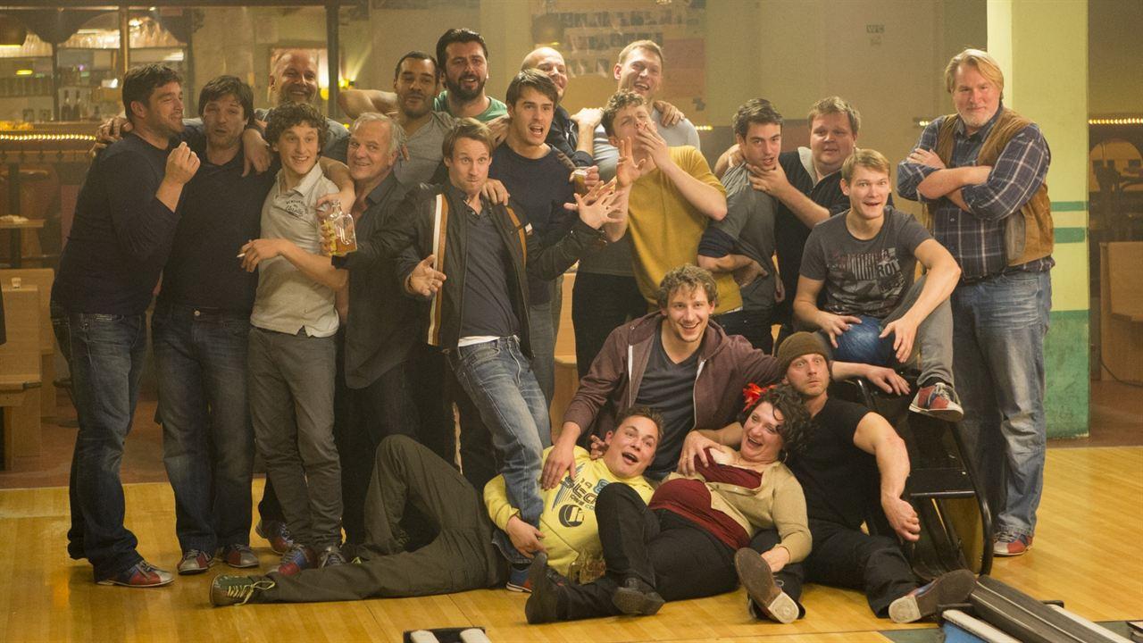 Wir waren Könige : Bild Felix Goeser, Godehard Giese, Hendrik Duryn, Jorres Risse, Misel Maticevic