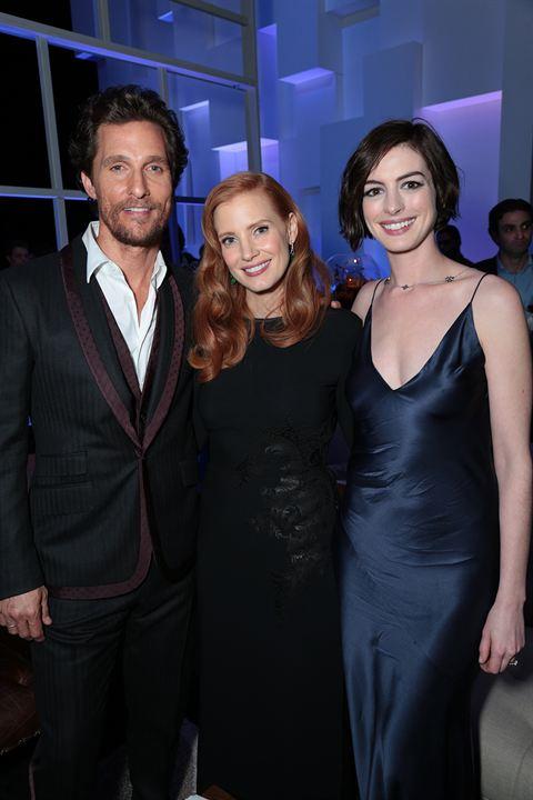Interstellar : Vignette (magazine) Anne Hathaway, Jessica Chastain, Matthew McConaughey