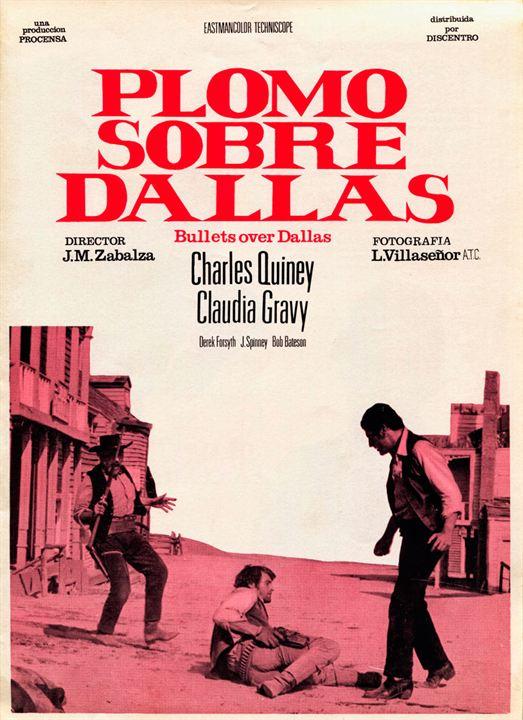Plomo sobre Dallas : Kinoposter