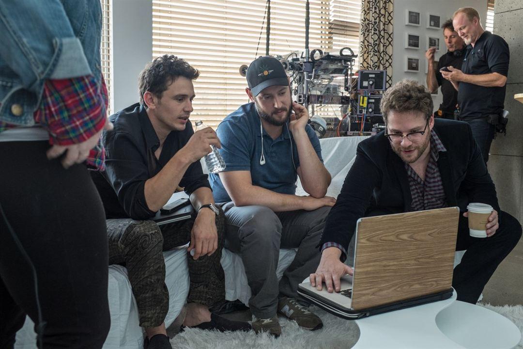The Interview : Bild Evan Goldberg, James Franco, Seth Rogen