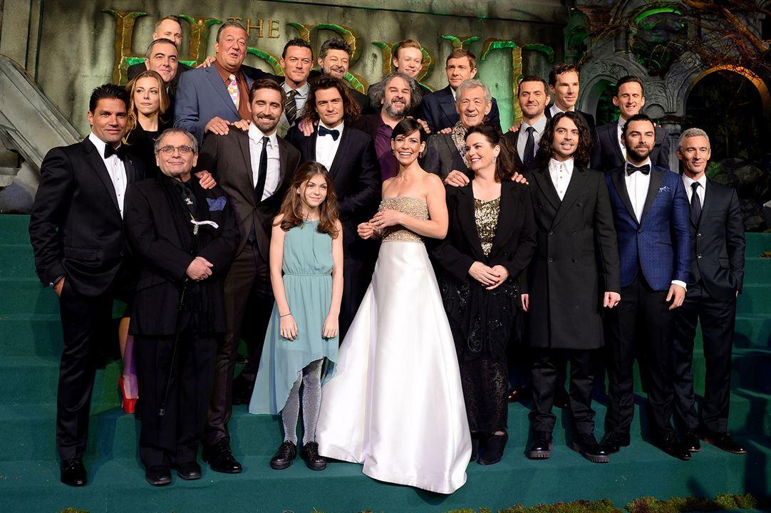 Der Hobbit: Die Schlacht der Fünf Heere : Vignette (magazine) Adam Brown, Aidan Turner, Andy Serkis, Benedict Cumberbatch, Evangeline Lilly