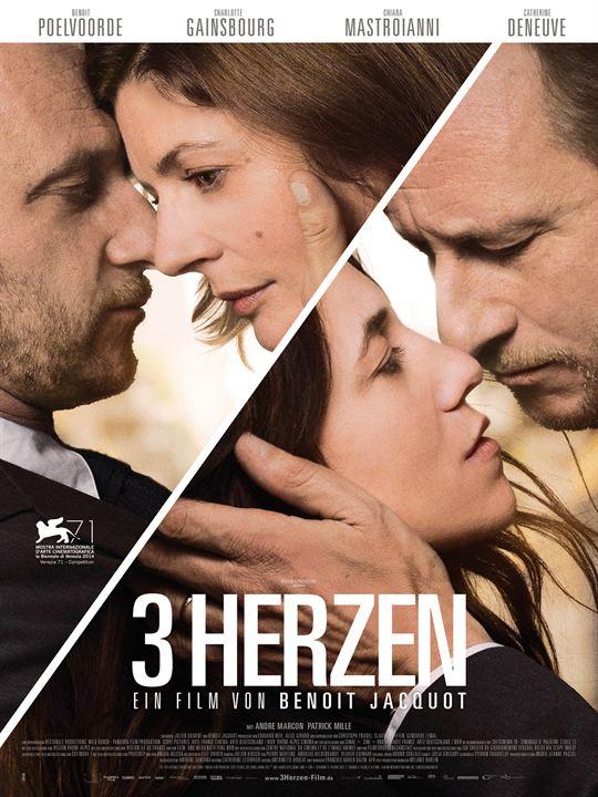 3 Herzen : Kinoposter