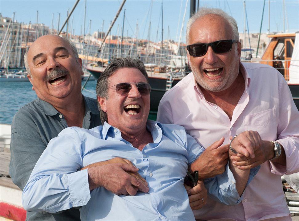 Unter Freunden : Bild Daniel Auteuil, François Berléand, Gérard Jugnot