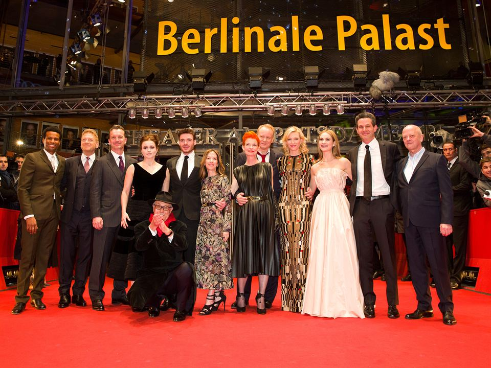 Cinderella : Vignette (magazine) Alli Shearmur, Cate Blanchett, David Barron, Helena Bonham Carter, Kenneth Branagh