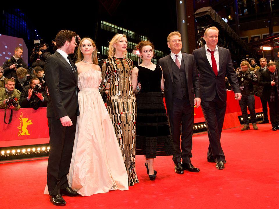 Cinderella : Vignette (magazine) Cate Blanchett, Helena Bonham Carter, Kenneth Branagh, Lily James, Richard Madden