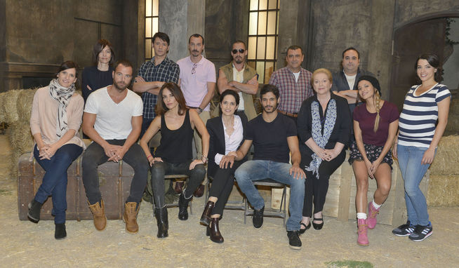 Vignette (magazine) Adriana Ozores, Carles Francino, Fele Martínez, Ismael Martínez, Malena Alterio