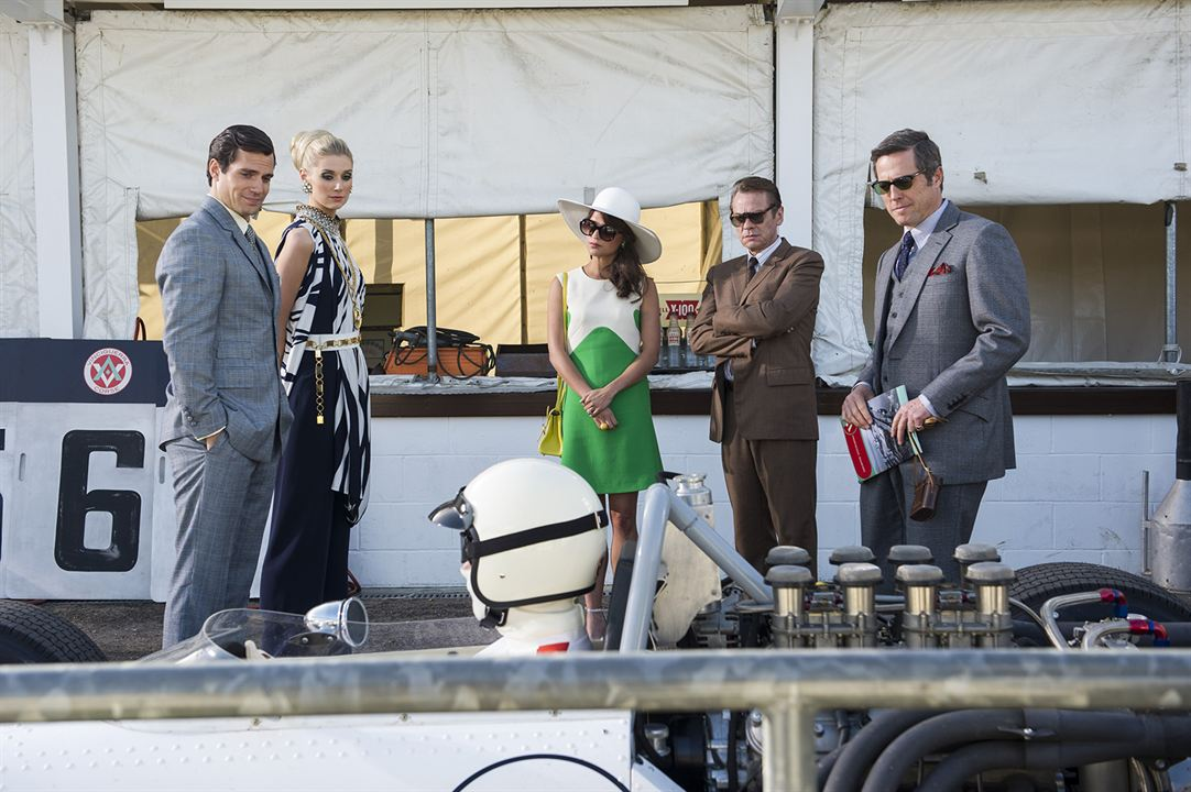 Codename U.N.C.L.E. : Bild Alicia Vikander, Elizabeth Debicki, Henry Cavill, Hugh Grant, Sylvester Groth
