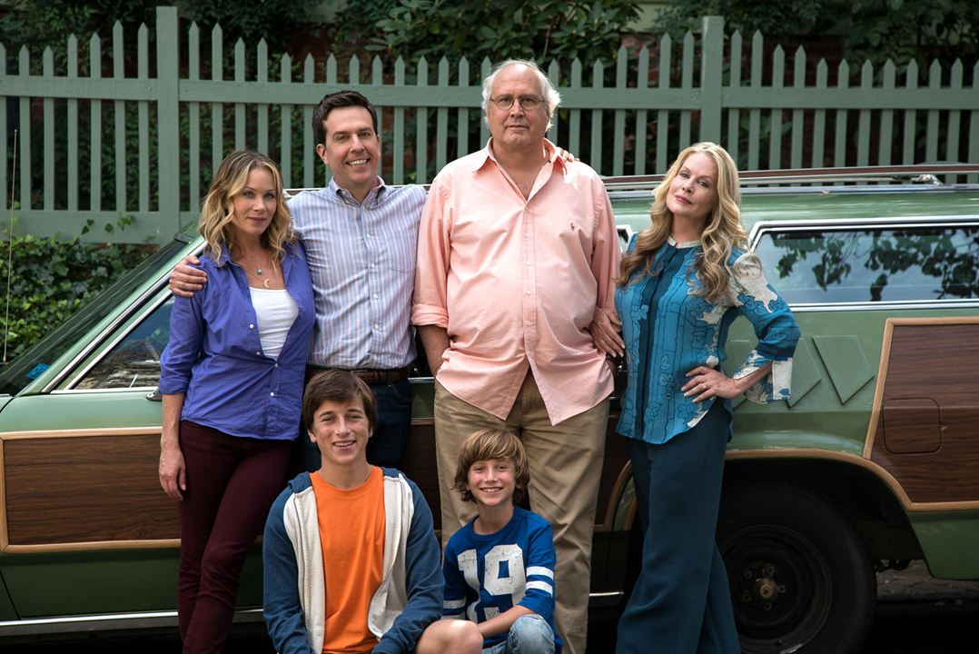 Vacation - Wir sind die Griswolds : Bild Beverly D'Angelo, Chevy Chase, Christina Applegate, Ed Helms, Skyler Gisondo