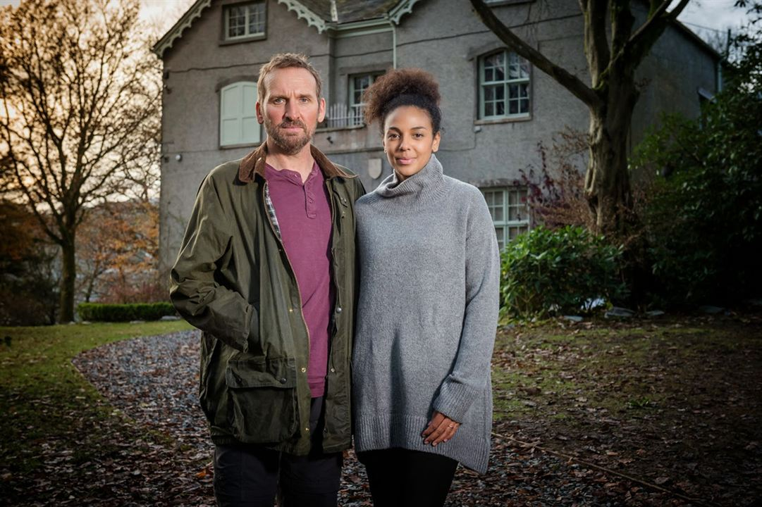 Bild Christopher Eccleston, Marsha Thomason