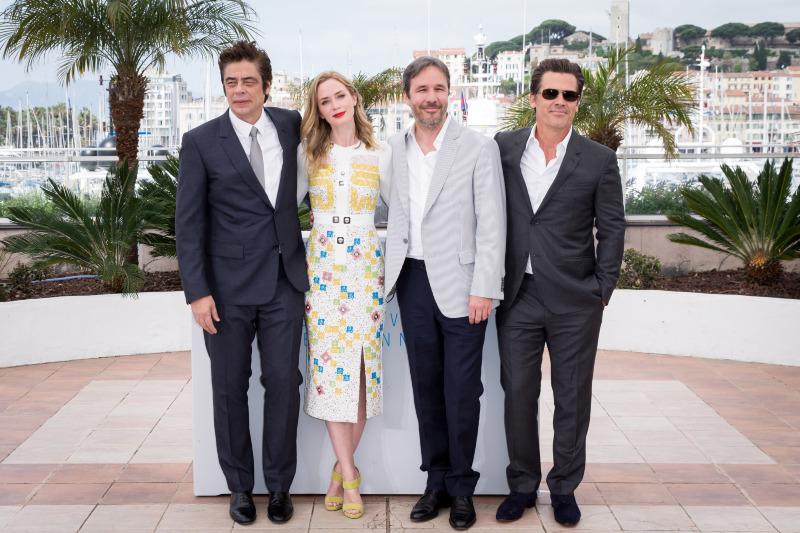 Sicario : Vignette (magazine) Benicio Del Toro, Denis Villeneuve, Emily Blunt, Josh Brolin