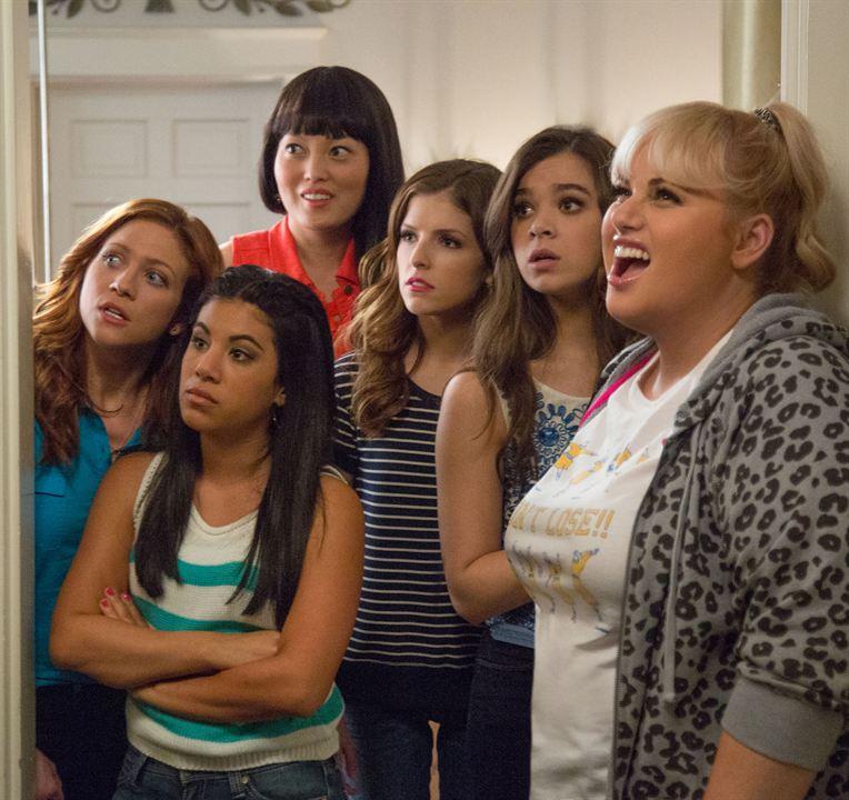 Pitch Perfect 2 : Bild Anna Kendrick, Chrissie Fit, Hailee Steinfeld, Hana Mae Lee, Rebel Wilson