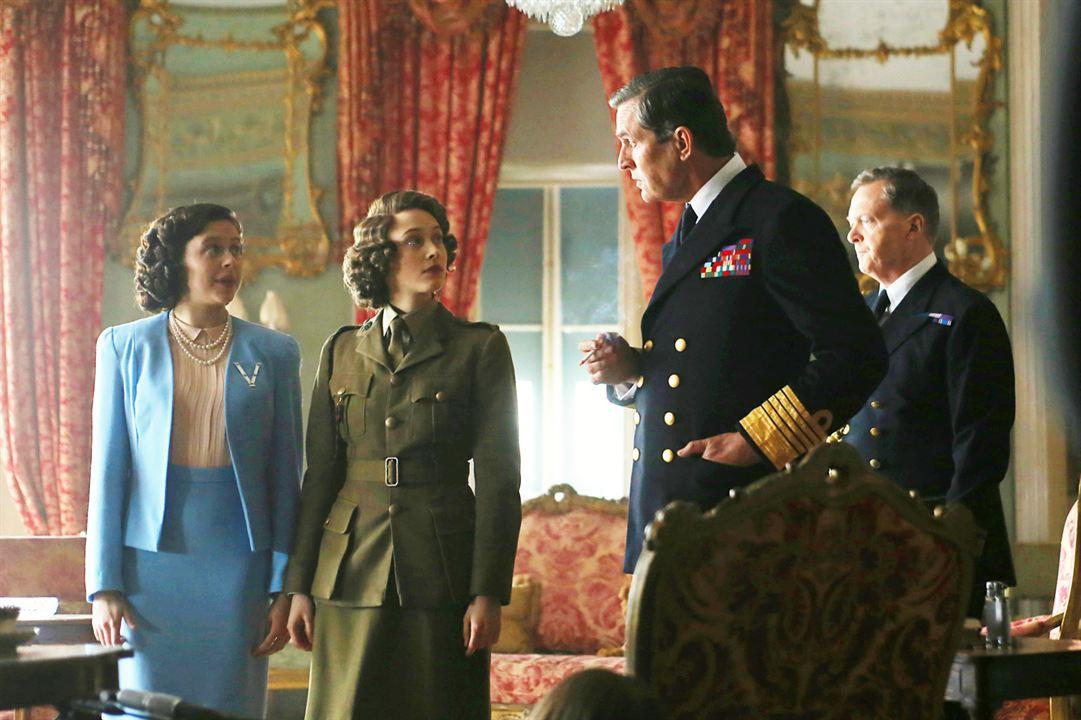 A Royal Night - Ein königliches Vergnügen : Bild Bel Powley, Rupert Everett, Sarah Gadon