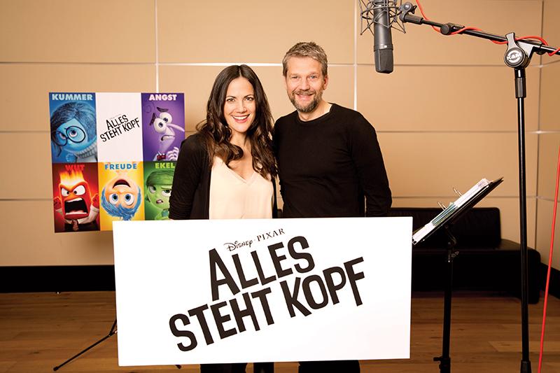 Alles steht Kopf : Vignette (magazine) Bettina Zimmermann, Kai Wiesinger