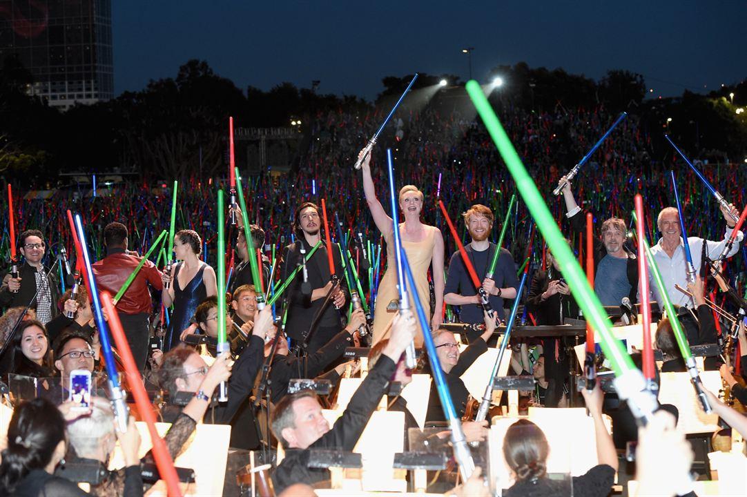 Star Wars 7: Das Erwachen der Macht : Vignette (magazine) Adam Driver, Carrie Fisher, Daisy Ridley, Domhnall Gleeson, Gwendoline Christie