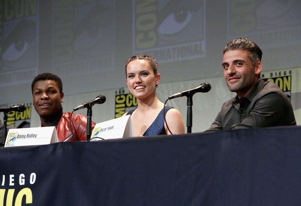Star Wars 7: Das Erwachen der Macht : Vignette (magazine) Daisy Ridley, John Boyega, Oscar Isaac