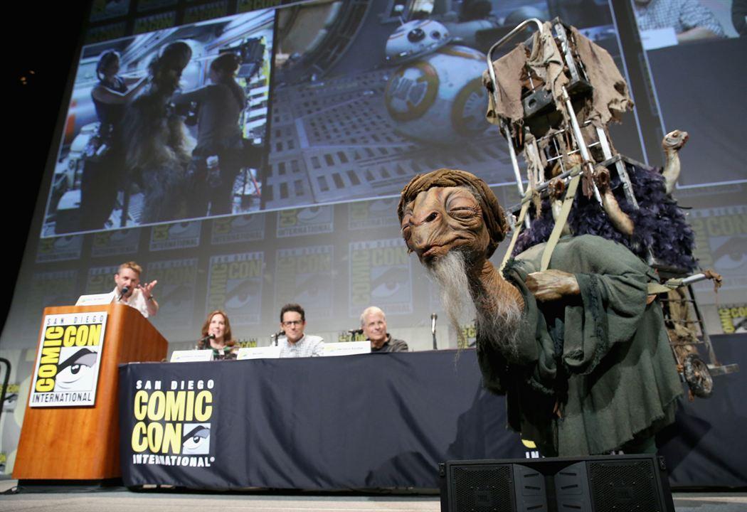 Star Wars 7: Das Erwachen der Macht : Vignette (magazine) Chris Hardwick, J.J. Abrams, Kathleen Kennedy, Lawrence Kasdan