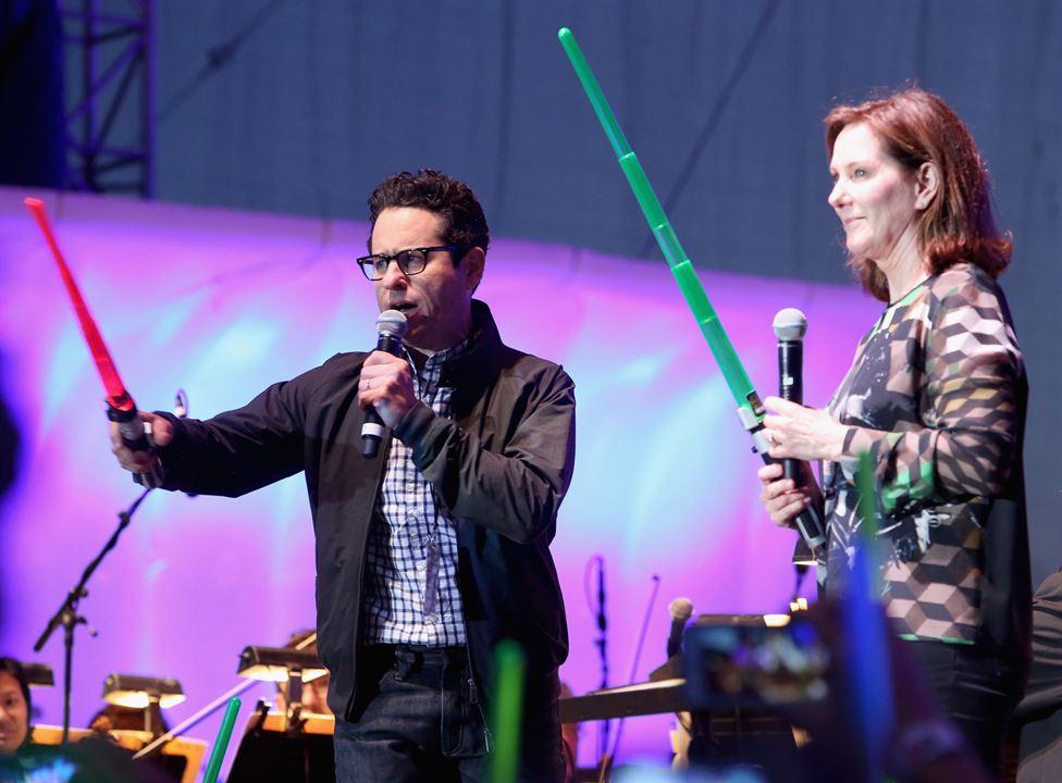 Star Wars 7: Das Erwachen der Macht : Vignette (magazine) J.J. Abrams, Kathleen Kennedy