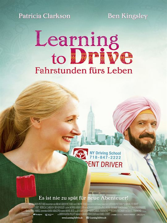 Learning To Drive - Fahrstunden fürs Leben : Kinoposter