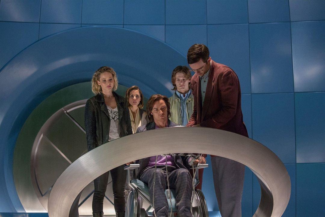 X-Men: Apocalypse : Bild James McAvoy, Jennifer Lawrence, Nicholas Hoult