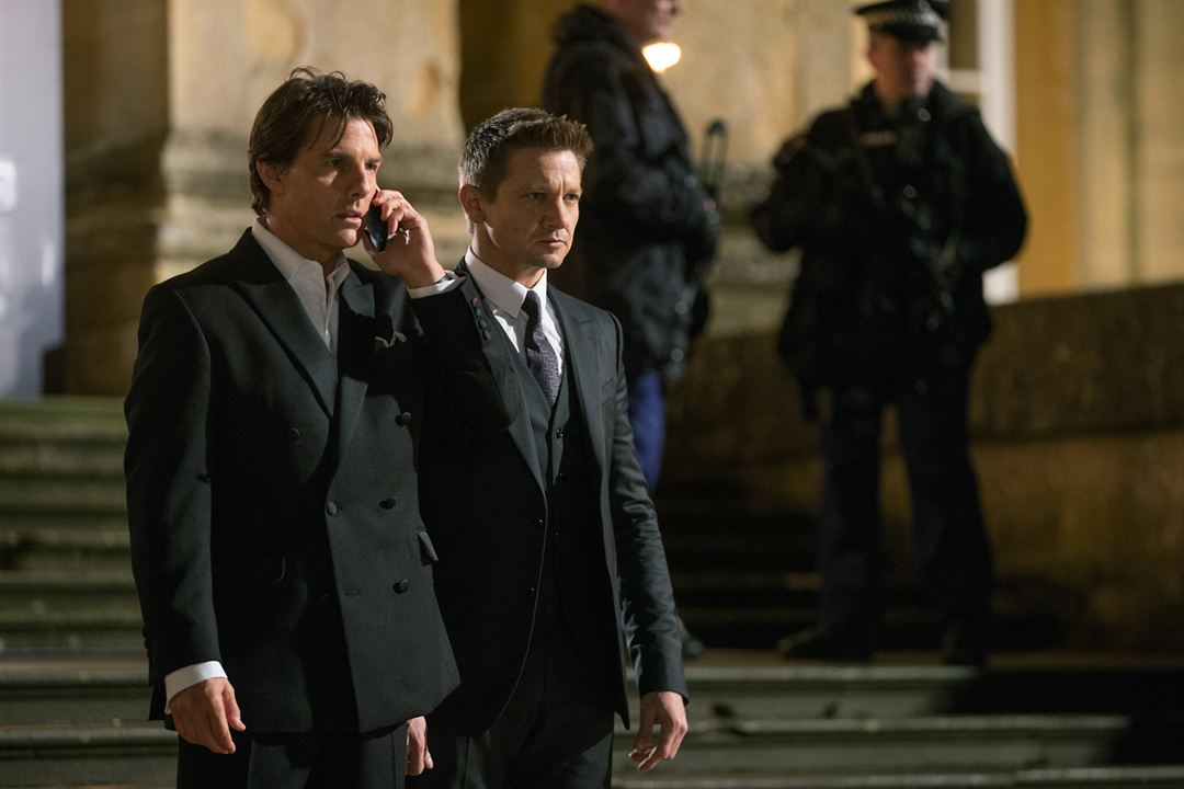 Mission: Impossible - Rogue Nation : Bild Jeremy Renner, Tom Cruise