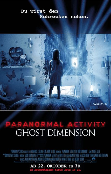 Paranormal Activity: Ghost Dimension : Kinoposter