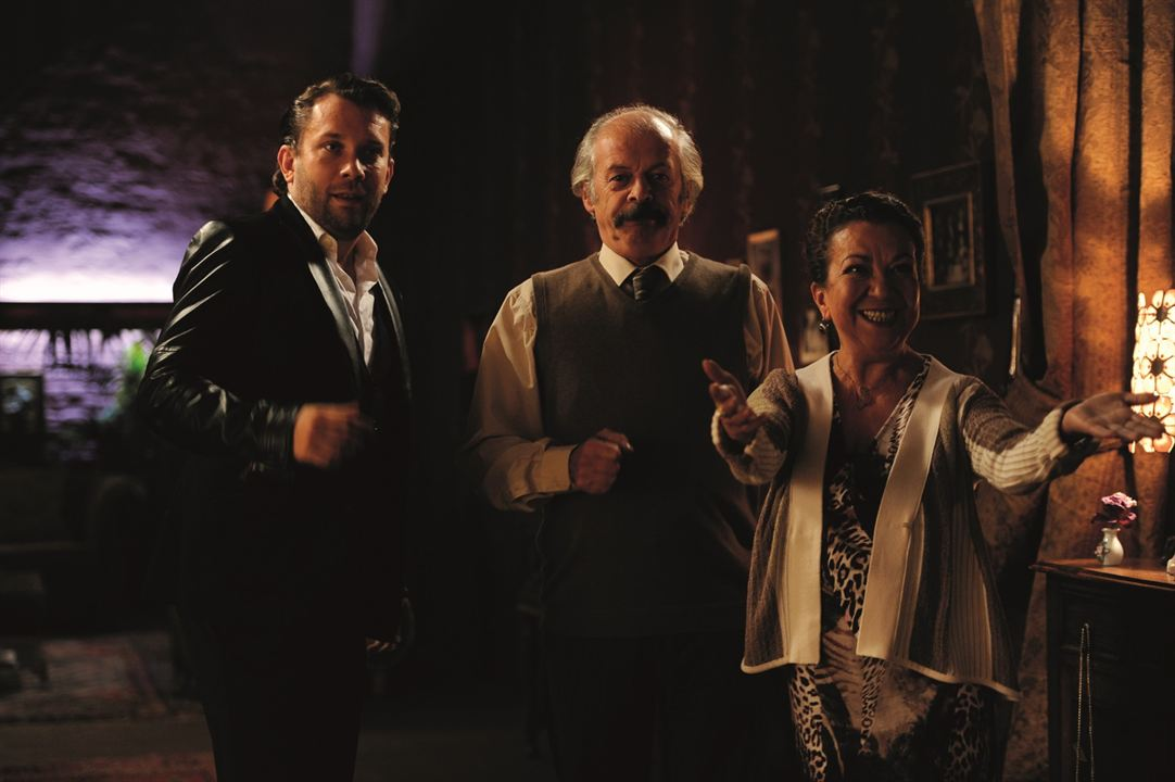 Macho Man : Bild Christian Ulmen, Lilay Huser, Vedat Erincin