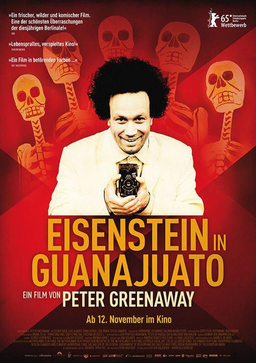 Eisenstein in Guanajuato : Kinoposter