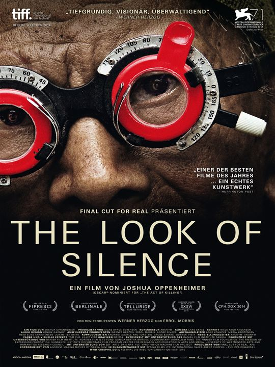 The Look Of Silence : Kinoposter