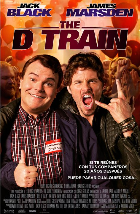 The D Train : Kinoposter