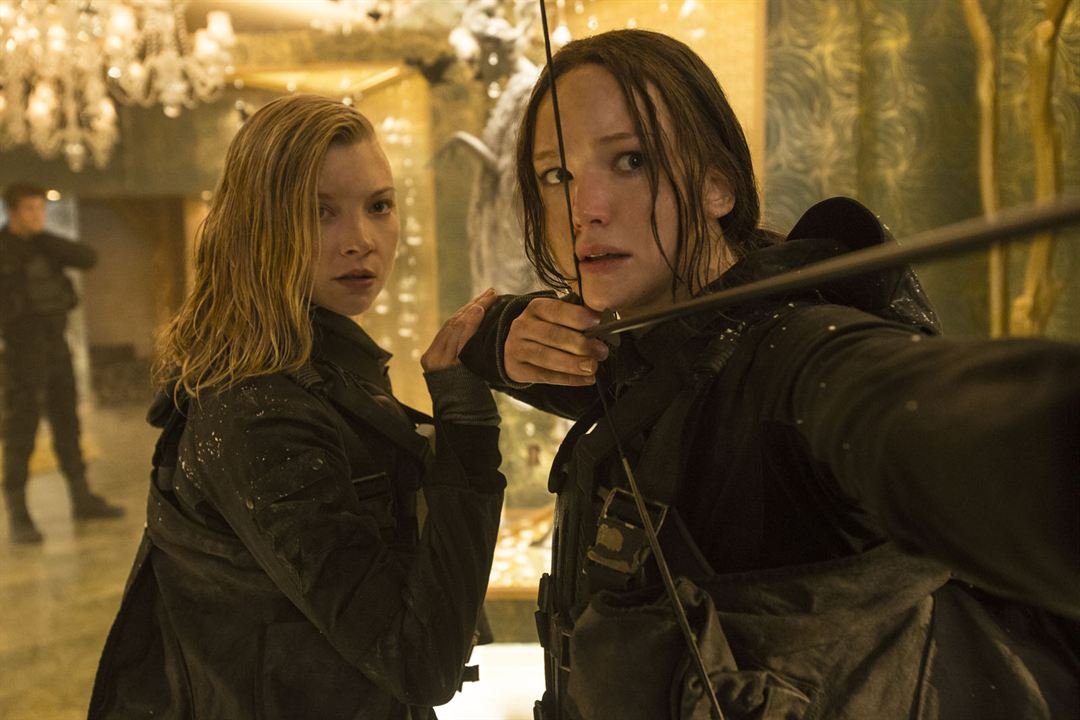 Die Tribute von Panem 4 - Mockingjay Teil 2 : Bild Jennifer Lawrence, Natalie Dormer