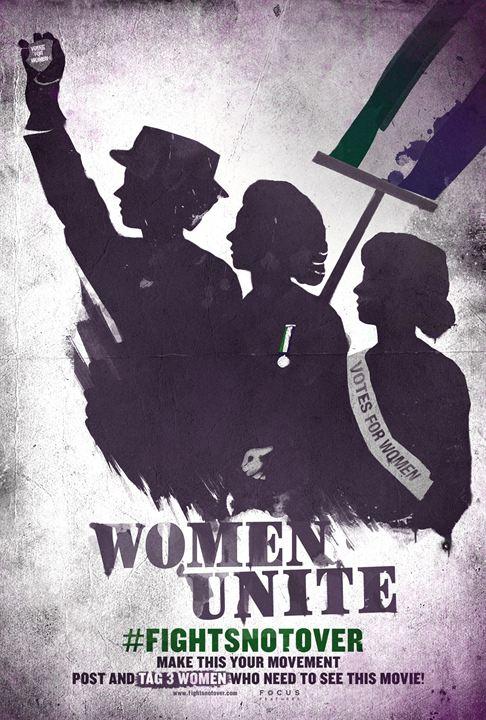 Suffragette - Taten statt Worte : Kinoposter