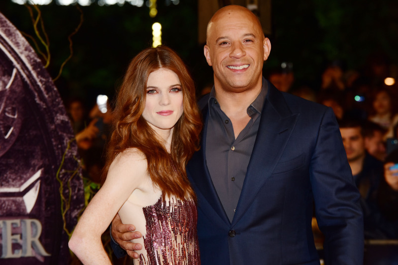 The Last Witch Hunter : Vignette (magazine) Rose Leslie, Vin Diesel