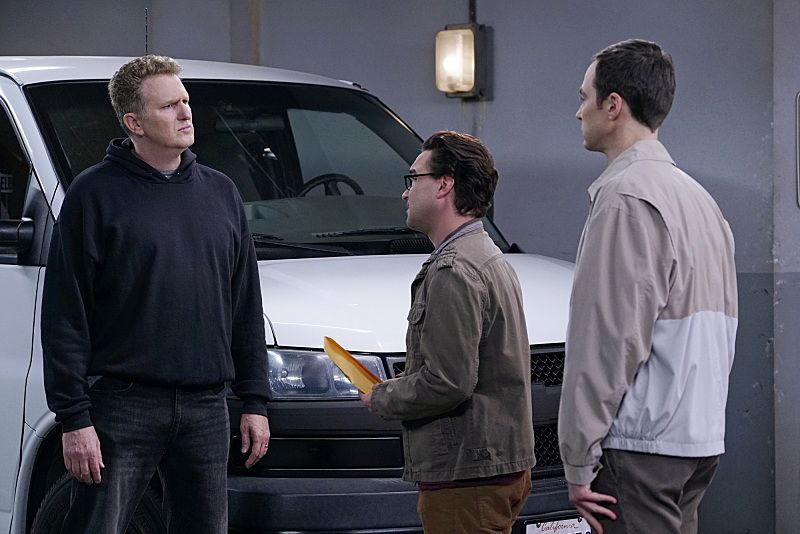 Bild Jim Parsons, Johnny Galecki, Michael Rapaport