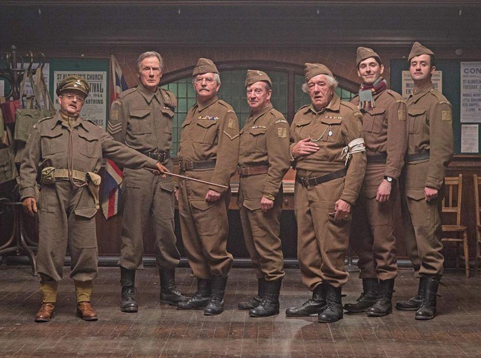 Dad's Army : Bild Bill Nighy, Bill Paterson, Blake Harrison, Danny Mays, Michael Gambon