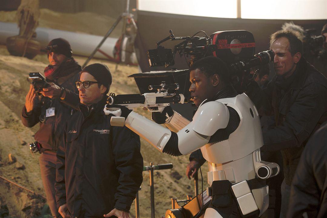 Star Wars 7: Das Erwachen der Macht : Vignette (magazine) J.J. Abrams, John Boyega