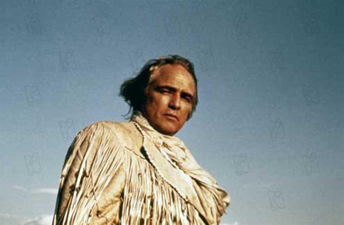 Duell am Missouri : Bild Arthur Penn, Marlon Brando