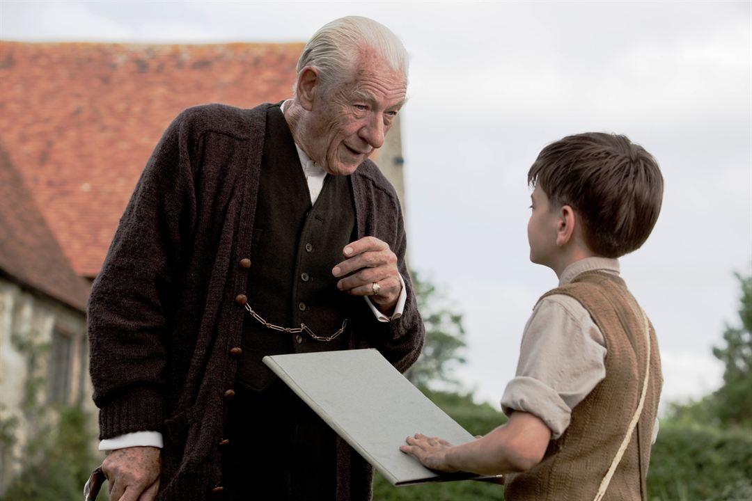 Mr. Holmes : Bild Ian McKellen, Milo Parker