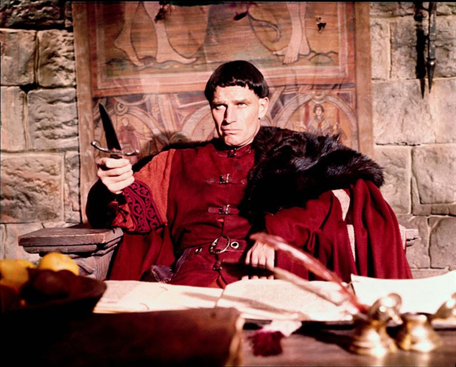 Die Normannen kommen : Bild Charlton Heston