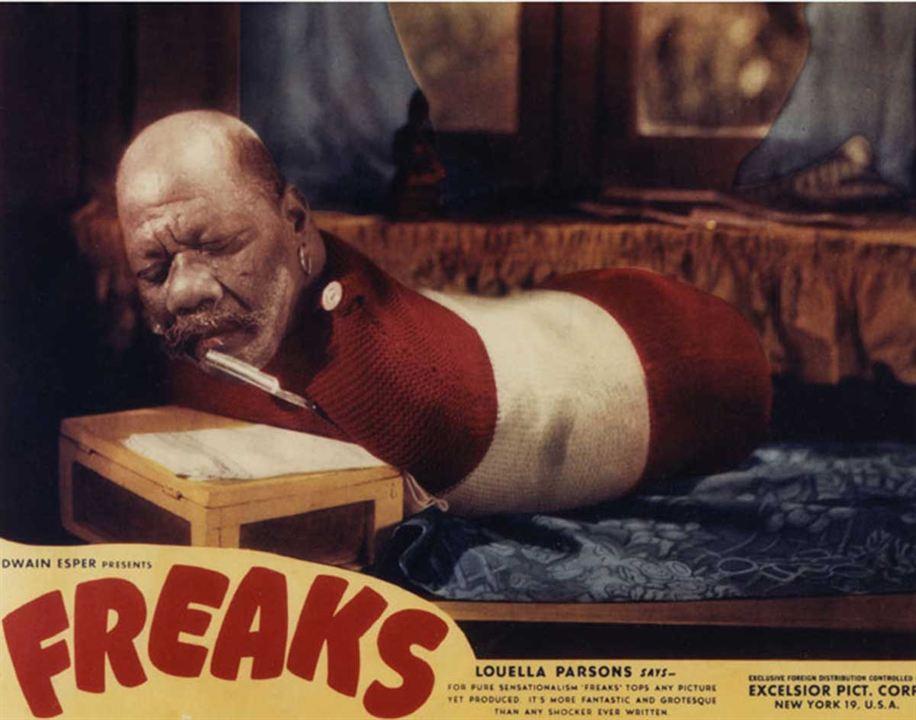 Freaks : Bild Tod Browning