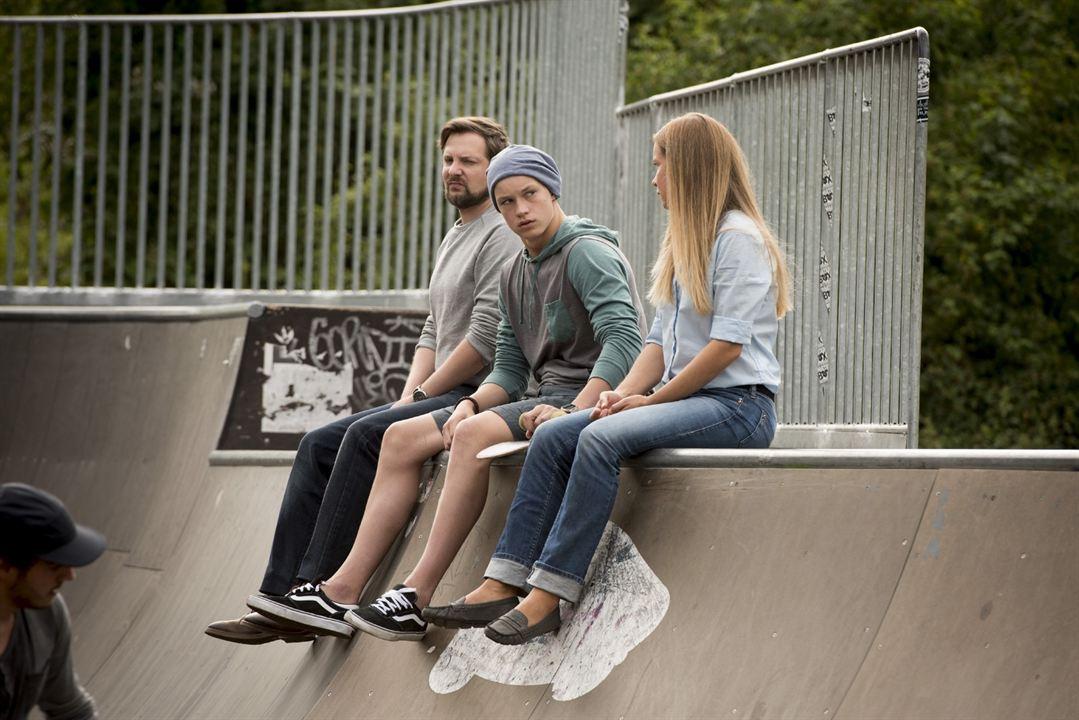 Bild Alexandra Schalaudek, Damian Hardung, Jens Kipper
