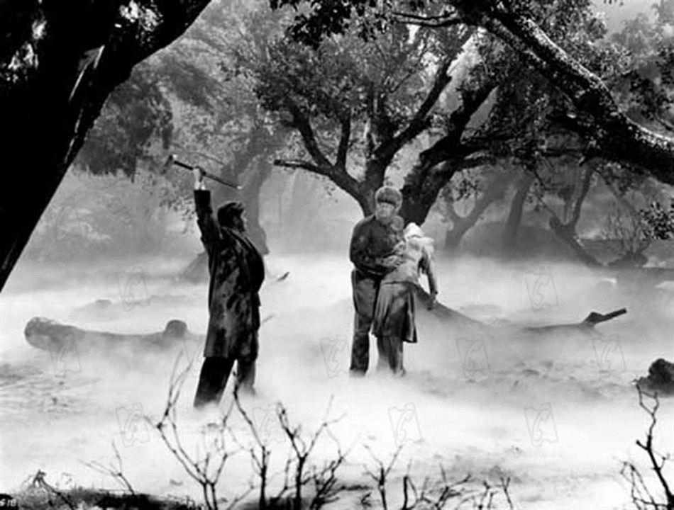 Der Wolfsmensch : Bild Claude Rains, Lon Chaney Jr.