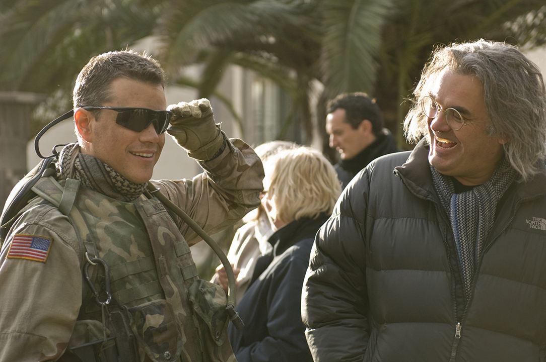 Green Zone : Bild Matt Damon, Paul Greengrass