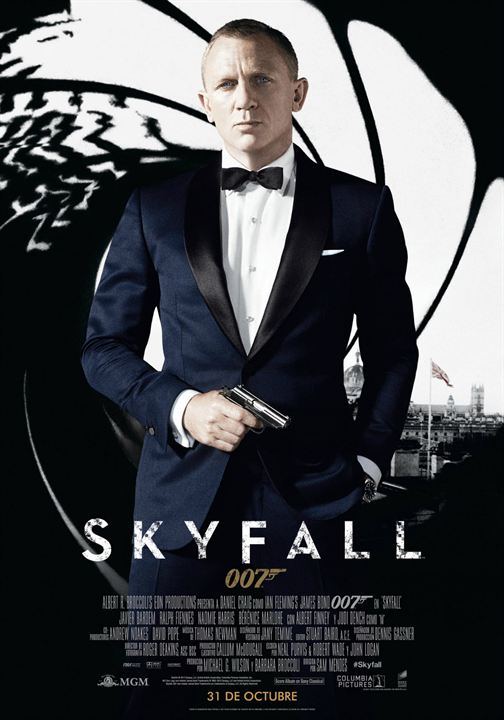 James Bond 007 - Skyfall : Kinoposter