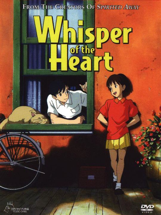 Stimme des Herzens - Whisper Of The Heart : Kinoposter