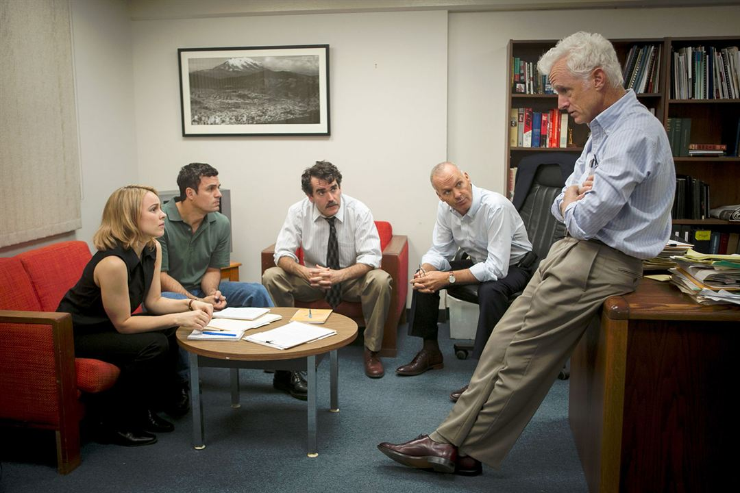 Spotlight : Bild Brian d'Arcy James, John Slattery, Mark Ruffalo, Michael Keaton, Rachel McAdams