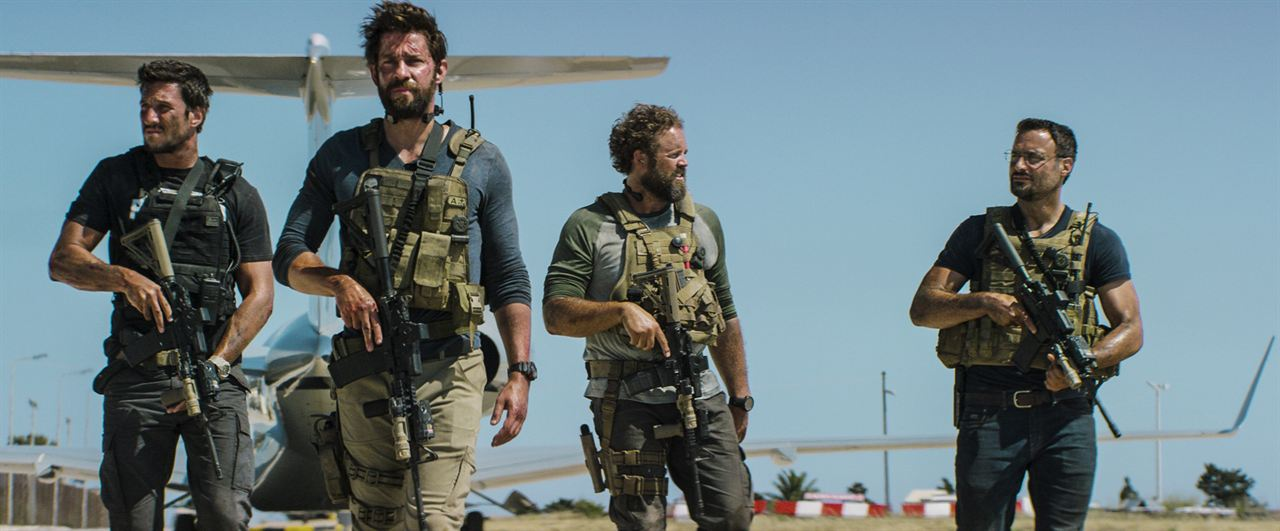 13 Hours: The Secret Soldiers Of Benghazi : Bild David Denman, Dominic Fumusa, John Krasinski, Pablo Schreiber
