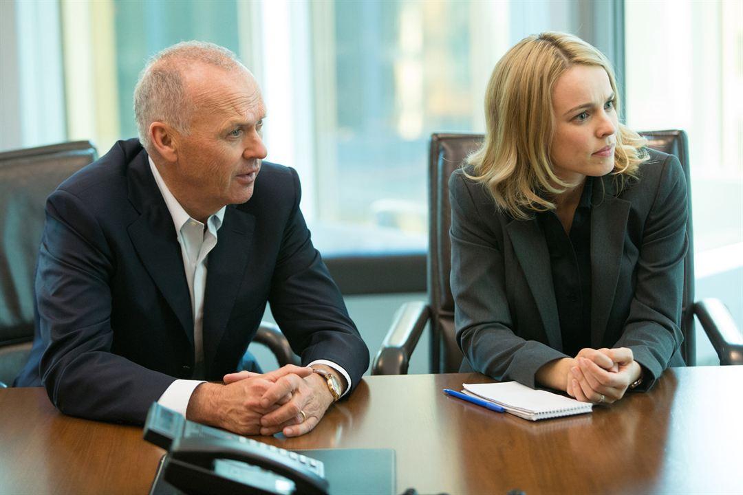 Spotlight : Bild Michael Keaton, Rachel McAdams