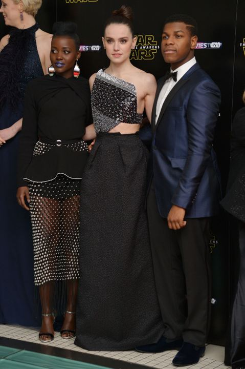 Star Wars 7: Das Erwachen der Macht : Vignette (magazine) Daisy Ridley, John Boyega, Lupita Nyong'o